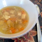 Chicken Soup with Sage