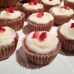 Strawberry Cupcakes (Paleo, Gluten-free, Dairy-free)