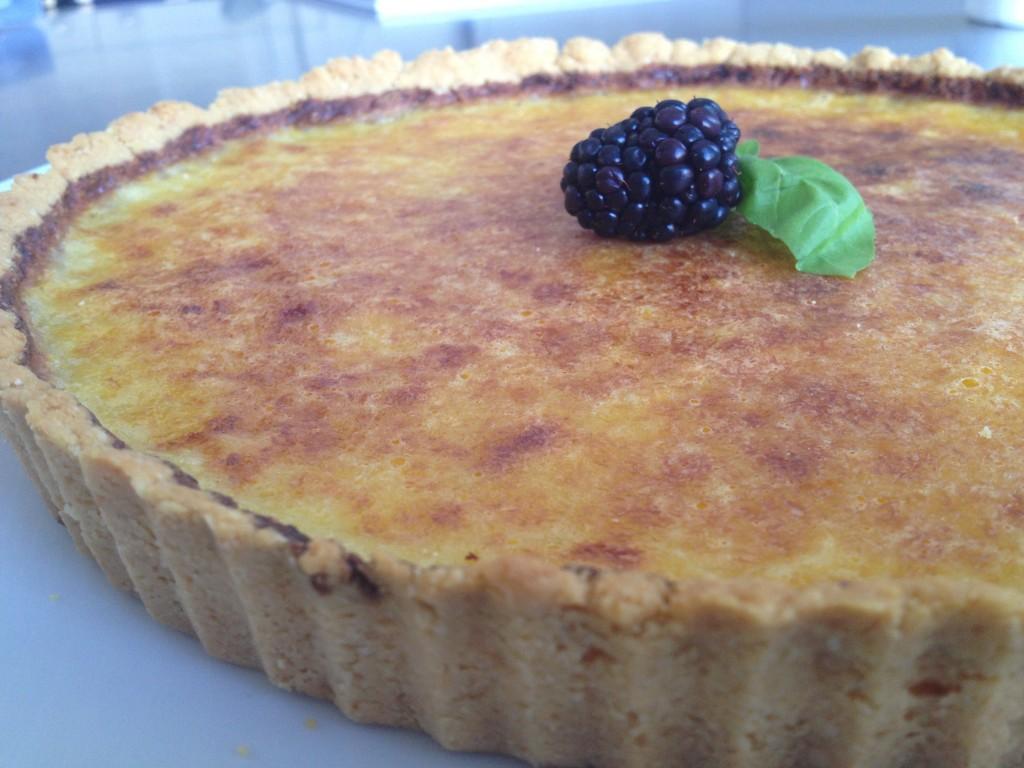 Lemon Tart recipe by Robin Shirley (Paleo, Gluten-free, Dairy-free)