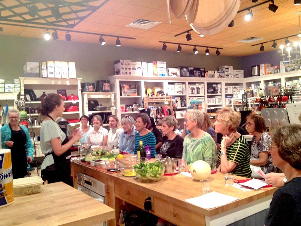 Robin Shirley Cooking Class