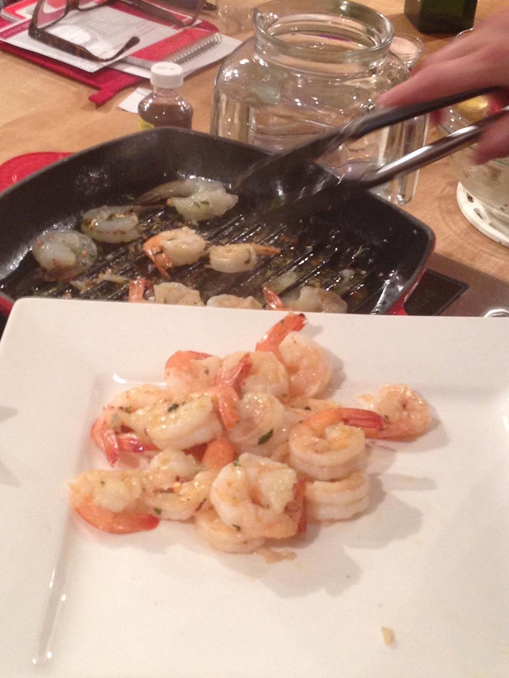Fiery Grilled Shrimp