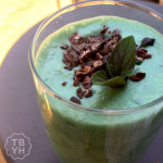 Mint Chocolate Chip Shake {Dairy-Free, Refined Sugar-Free}