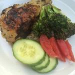 Herb Grilled Chicken & Veggies