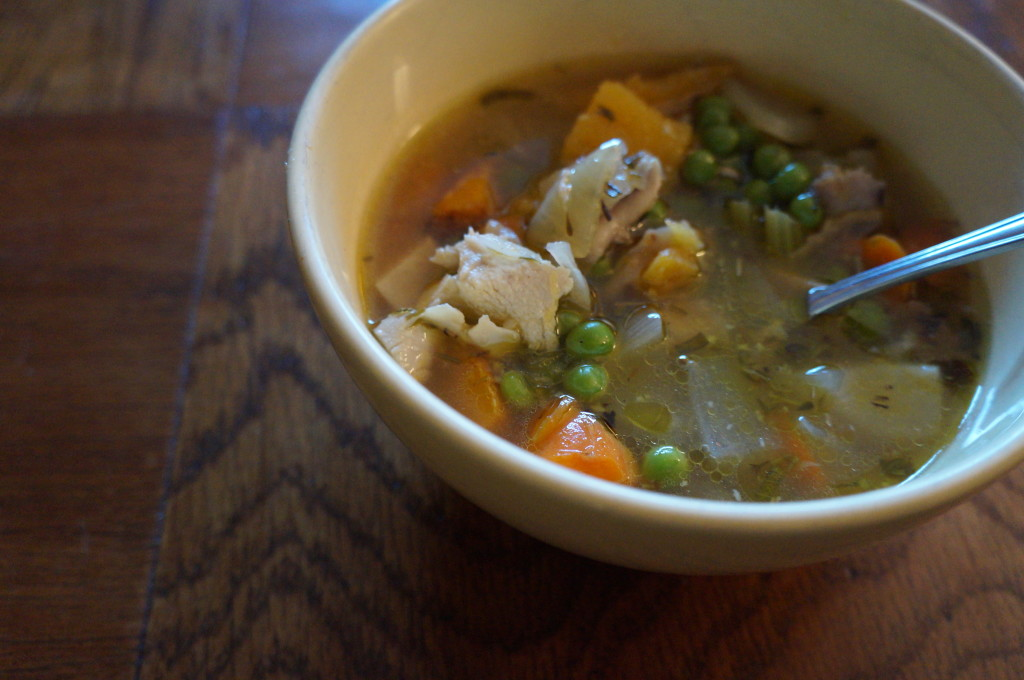 Healing Herbal Chicken Soup by Robin Shirley