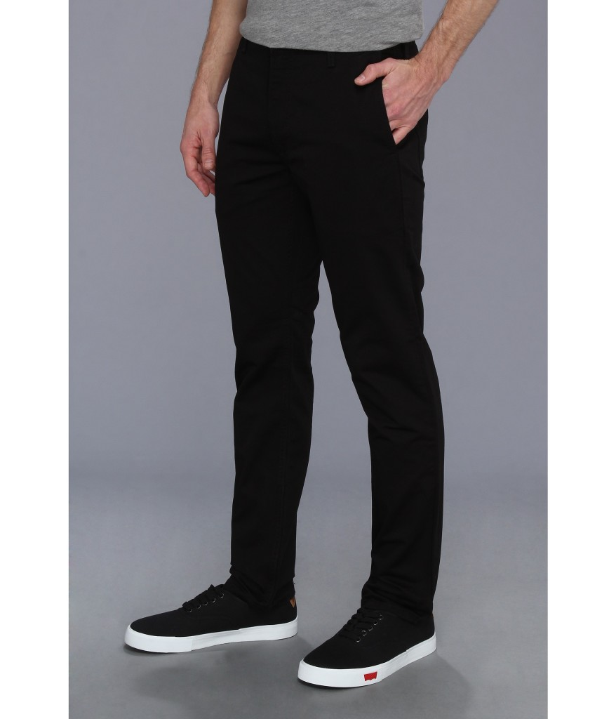 levis black skinny mens
