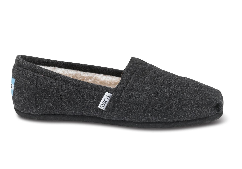 toms woolen classic women's shoe