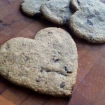 Chocolate Chip Cut-Out Cookies: Heart Shaped for Valentine's Day {Grain-Free, Dairy-Free, Egg-Free}
