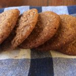 Holiday Ginger Spice Cookies {Gluten-Free, Dairy-Free, Egg-Free}