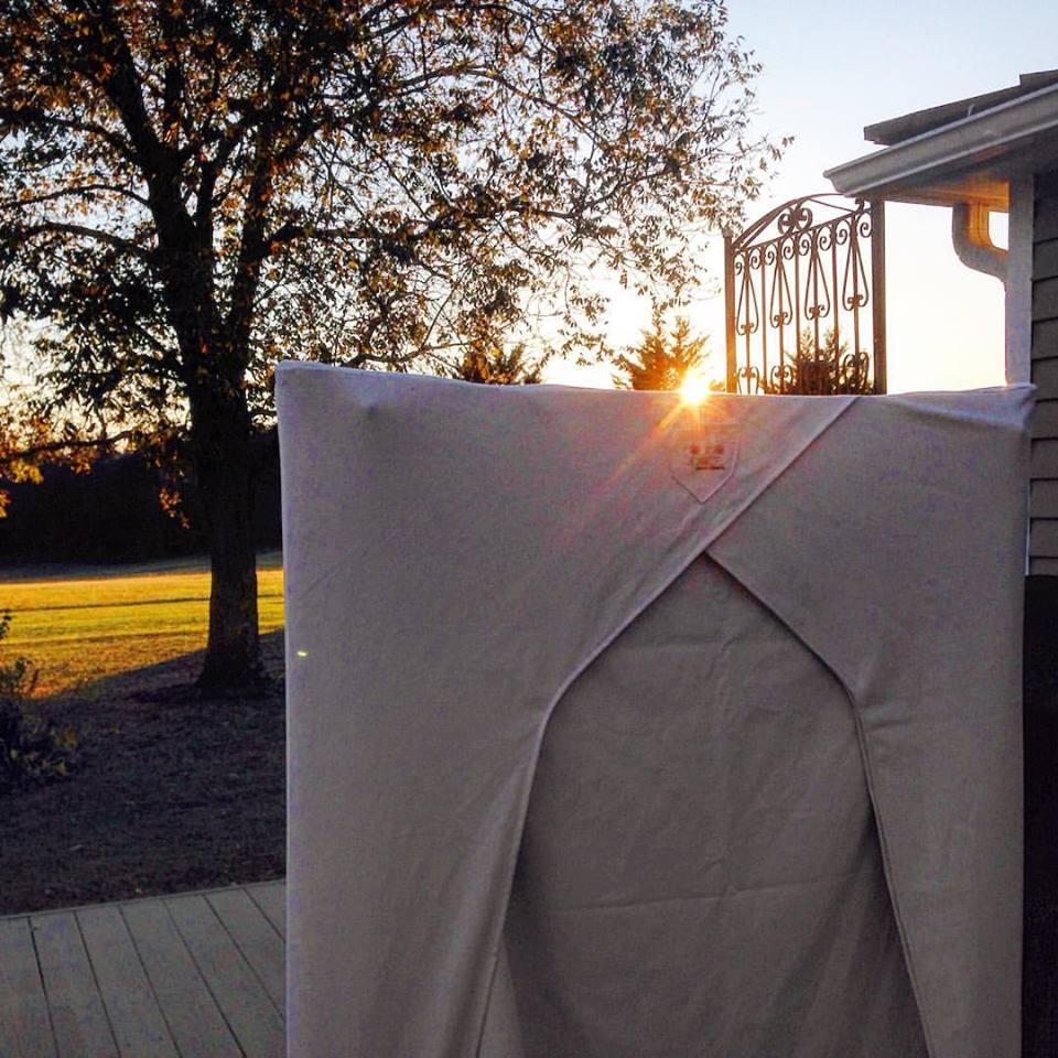 sauna-sunset